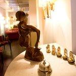 Vue salon et réception de l'hôtel Royal Wilson au centre de Toulouse