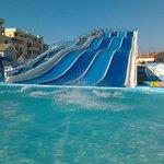 O parque aquatico