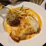 Caribbean Chicken with Mozarella Cheese