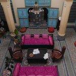 Interno del Riad Amazigh