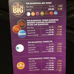 Premier Inn pricelist for attractions (picked up 24/08/13)