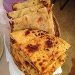 chili naan and garlic nan. perfect!