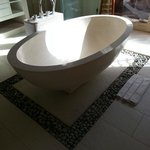 Gorgeous big bath tub