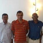Sanitha, Balaji , Me , Francis and Christina (L to R)