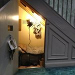 Harry's room under the stairs at Privet Drive