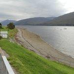 Loch Linnhe, opposite hotel.