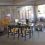Reception area at Cosmopolitan Hotel