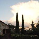 sunset at Tenuta il Casone