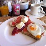 Una pequeña muestra de mi desayuno diario