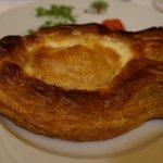 Филе сибаса/ Feuilleté de Bar à l'estragon