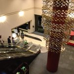 Pleasing decor in the lobby