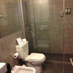 Huge and nice new bathroom