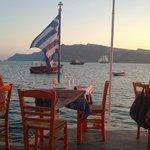 Im Hafen von Ammoudi
