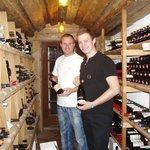 merci Sandro  pour la visite de la cave à vin