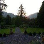 breakfast view (pic taken in evening)