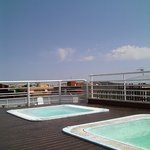 Джакузи на крыше