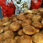 Hong peah crispy.