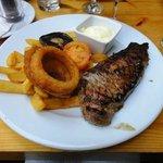 Steak and Chip - Arthur Howell's locally farmed steak!
