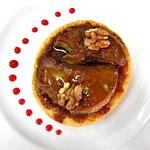 Tarte fine de foie gras poëlé aux figues