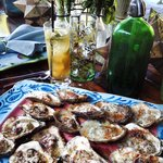 Hugo's Oysters on the halfshell