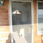 upper lodge door to balcony