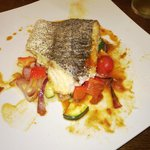 Baked Hake on roasted vegetables-Special