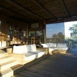 Sunken living room / seating area