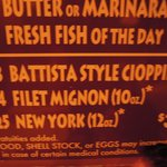 Cioppino means nothing in italian!
