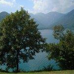 panorama lago di Ledro