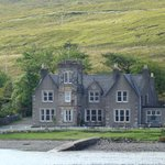 Sconser Lodge - picture taken from Rasaay ferry