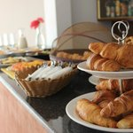 Breakfast Buffet - Delicious fresh croissants
