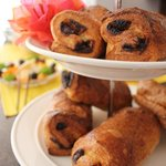 Breakfast Buffet - Pains au Chocolat - Fresh and delicious!