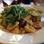 The calamari - excellent