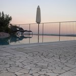 Panorama in piscina