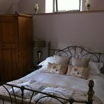Lovely room with beautiful bed