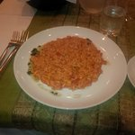 Tasty prawn rissoto starter!!