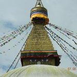 gli occhi blu dello Stupa