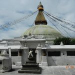 Lo stupa di Bodnah nel suo splendore