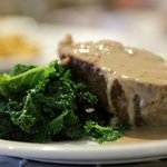 Local Meatloaf & Kale