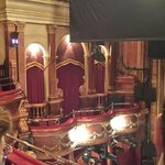 Inside the Victoria Palace Theatre