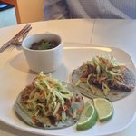 My new favorite - Tinga Tacos!