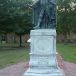 Statue on the William and Mary campus