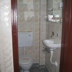 Bathroom in the Old Section - Unacceptable