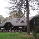 Charming historic lodge.