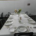 Dining Room of the SS Klondike