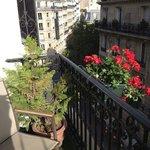 cute, romantic little balcony