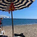 relaxing beach time