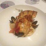fresh seafood sautéed with garlic