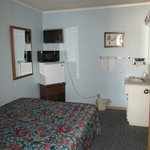 Smoking (gf) full bed section,two bed room