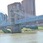 Ohio River from Cincinnati side